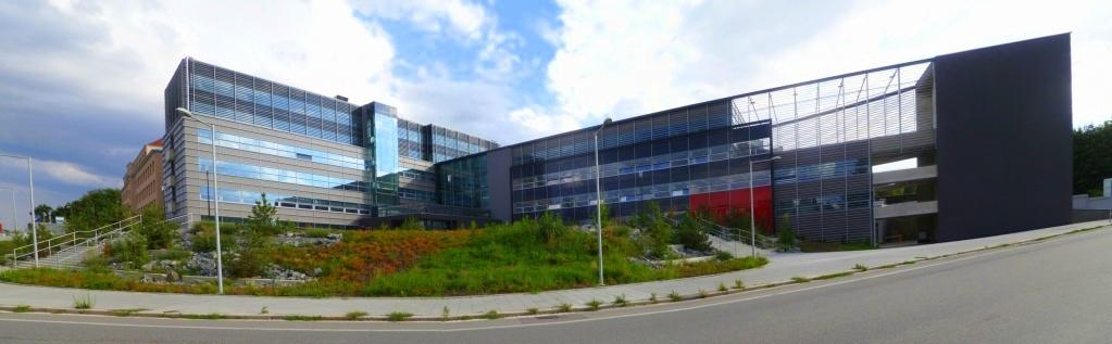 Nová budova Teoretických ústavů